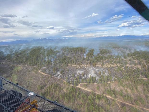Incident Photo for the Maggie Fire