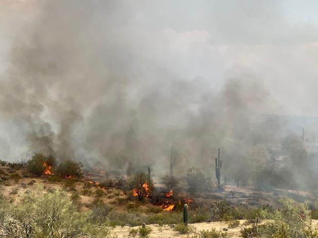 Incident Photo for the Range Fire