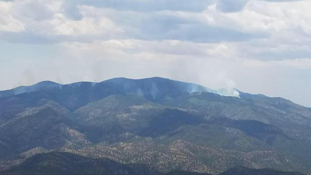 Incident Photo for the Vics Peak Fire