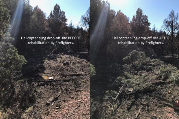 Incident Photo for the Mahogany Fire