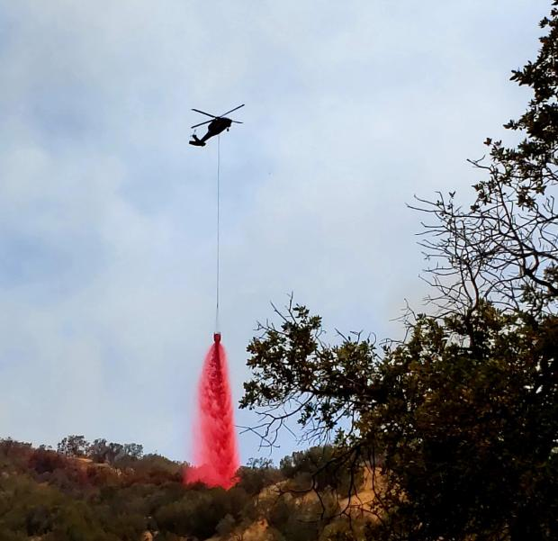 Incident Photo for the Mineral Fire