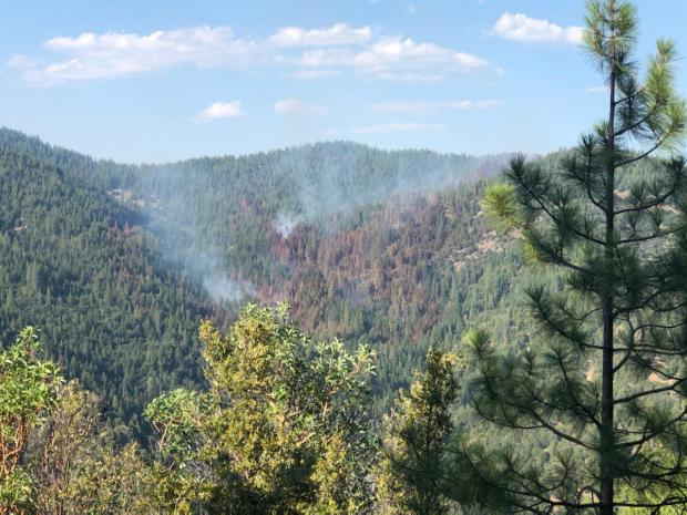 Incident Photo for the KNF Lightning July 2020 Fire