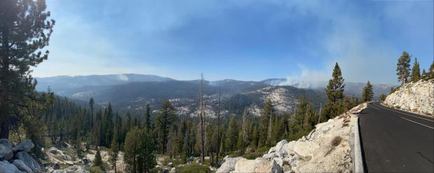Incident Photo for the Blue Jay Fire