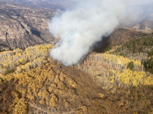 Incident Photo for the Grizzly Creek Fire