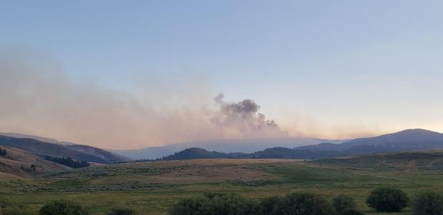 Incident Photo for the Bear Creek Fire
