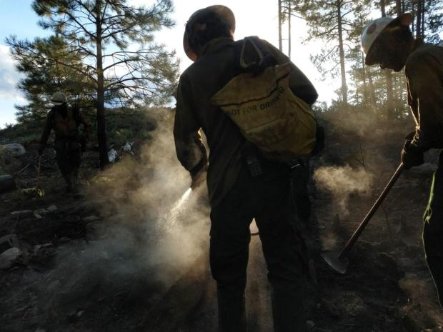 Incident Photo for the Spud Rock Fire