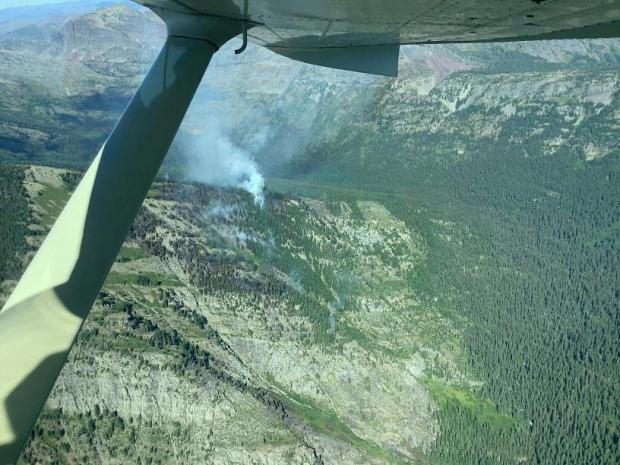 Incident Photo for the Lion Creek Fire