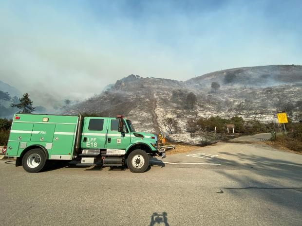 Incident Photo for the Dolan Fire