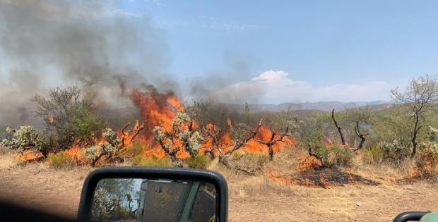 Incident Photo for the Verde Fire
