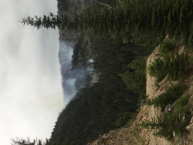 Incident Photo for the Cinnabar Fire