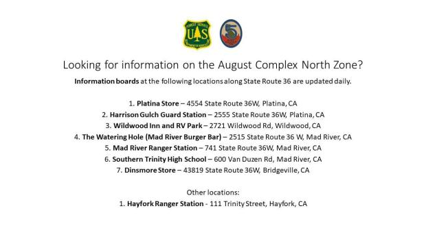 Incident Photo for the August Complex North Zone Fire