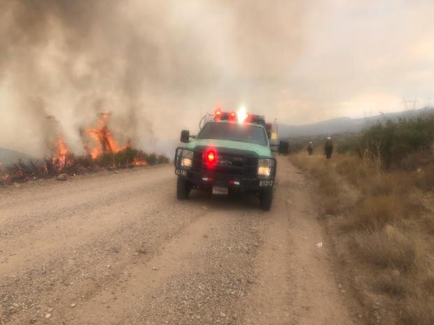 Incident Photo for the Bolt Fire