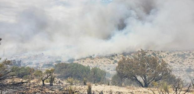 Incident Photo for the Smith Canyon Fire