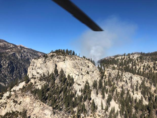 Incident Photo for the Rattlesnake Fire