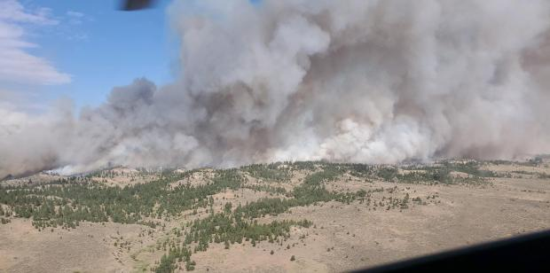 Incident Photo for the Elk Fire