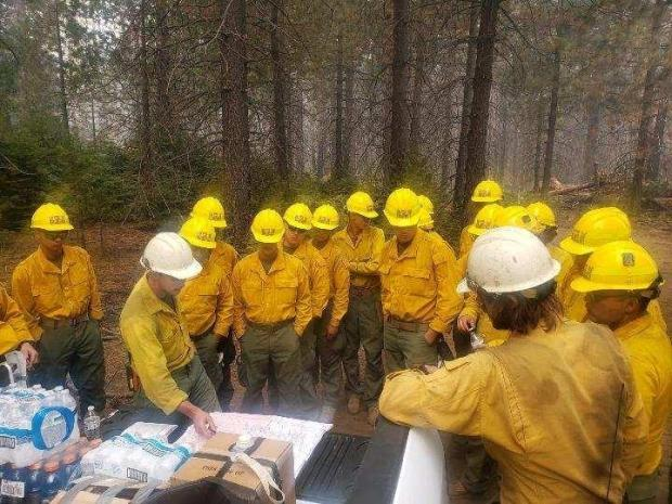 Incident Photo for the Creek Fire