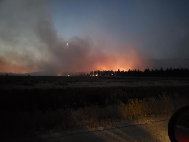 Incident Photo for the Whitetail Loop Fire