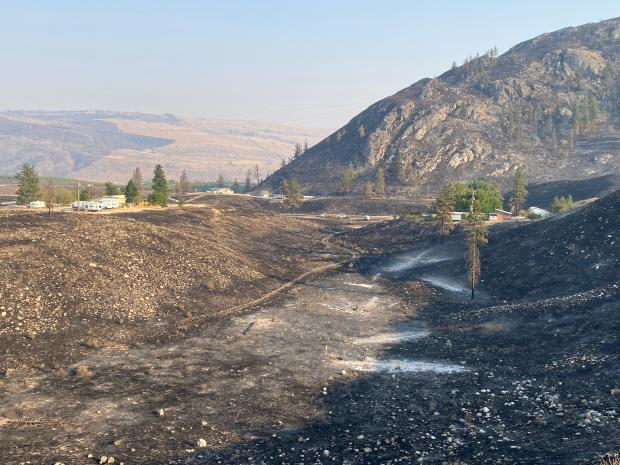 Incident Photo for the Apple Acres Fire