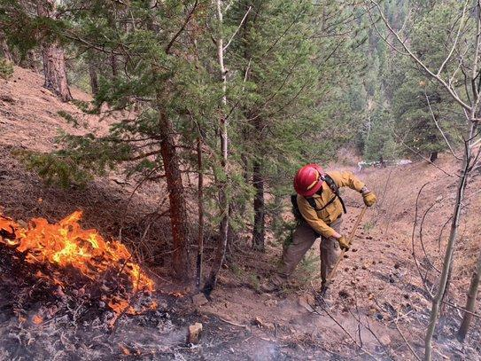 Incident Photo for the Lefthand Canyon Fire