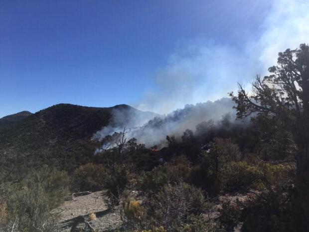 Incident Photo for the Big Rocks Fire