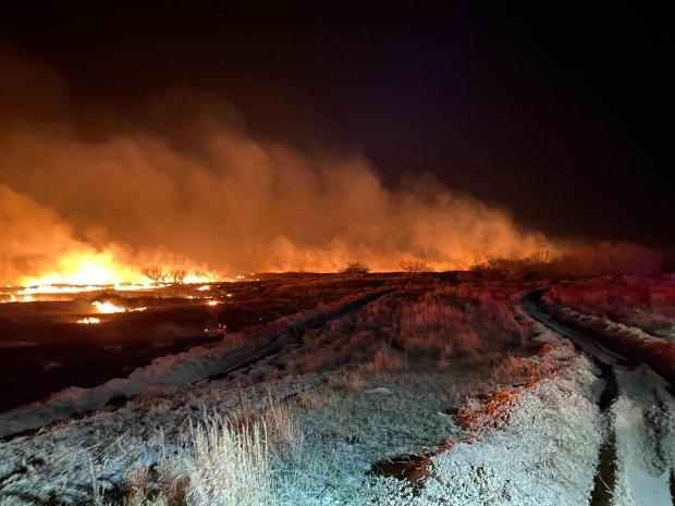 Incident Photo for the Baffin Fire