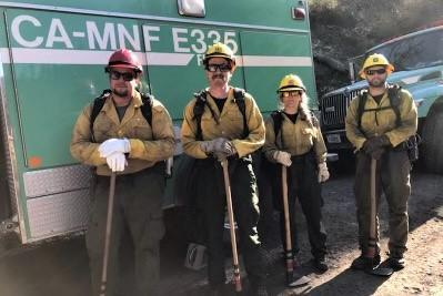 Incident Photo for the Elk 2021 Fire