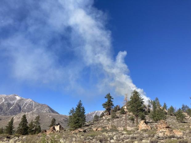Incident Photo for the Inyo RX Burning 2021 Fire
