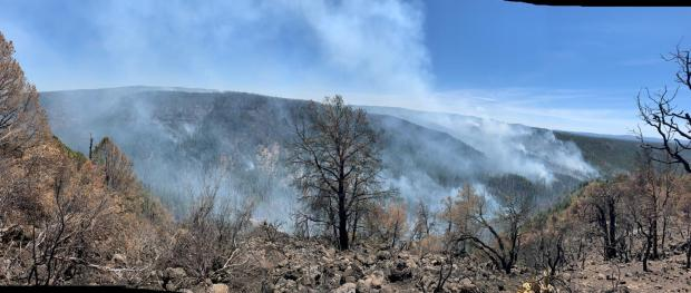 Incident Photo for the Bonito Rock Fire