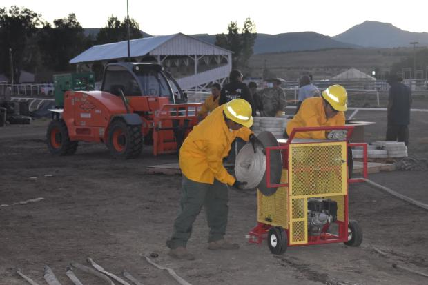 Incident Photo for the Mammoth Fire