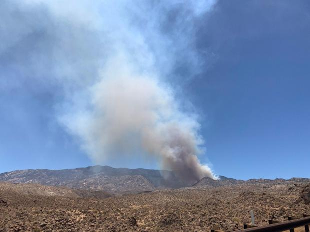 Incident Photo for the Flats Fire