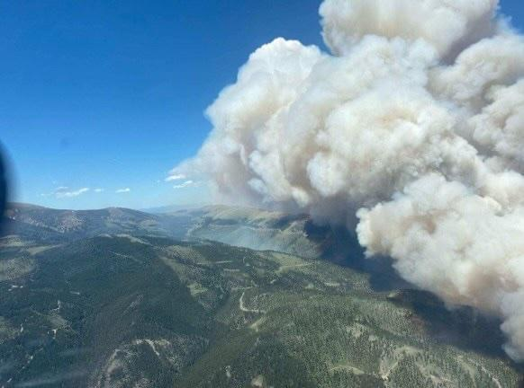 Incident Photo for the Deep Creek Canyon Fire