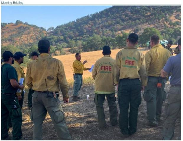 Incident Photo for the Poso Fire