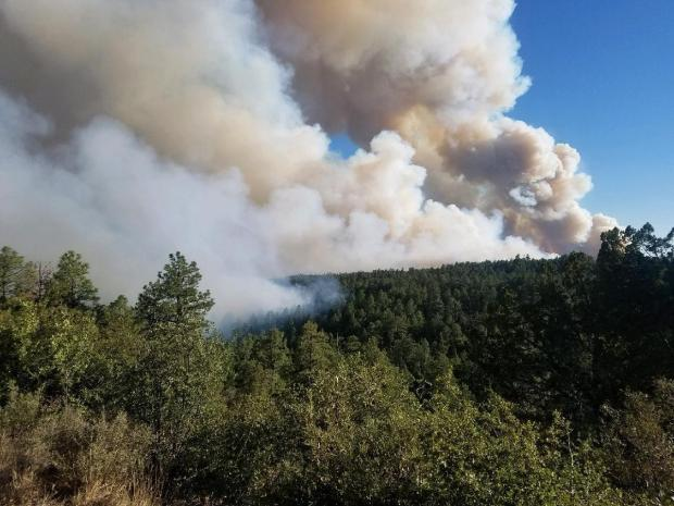 Incident Photo for the Bear Fire