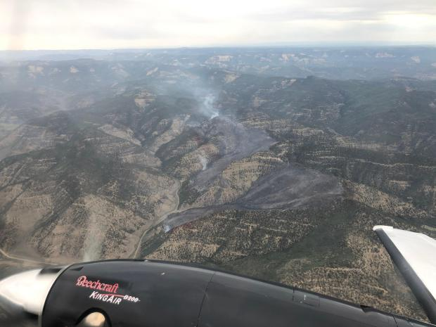 Incident Photo for the Wild Cow Fire