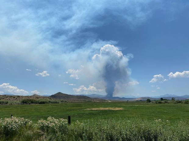 Incident Photo for the East Fork Fire