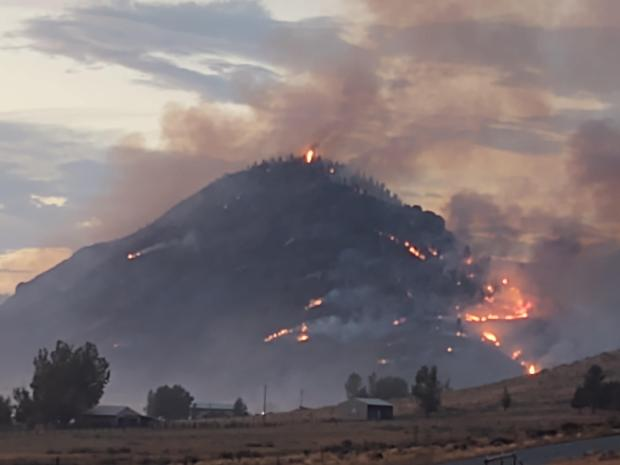 Incident Photo for the Sugar Fire