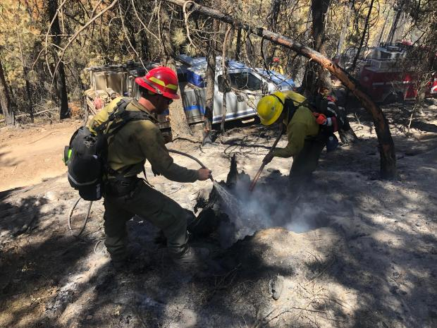 Incident Photo for the Lewis Rock Fire