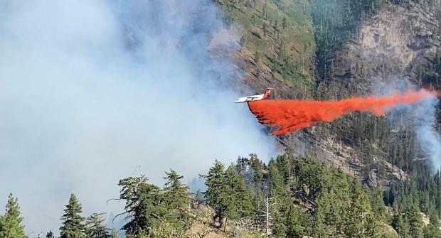 Incident Photo for the Green Ridge Fire