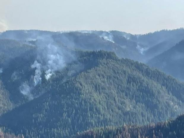 Incident Photo for the Knob Fire