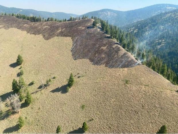 Incident Photo for the Brewster Fire