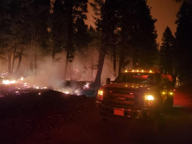 Incident Photo for the Sand Lake Fire