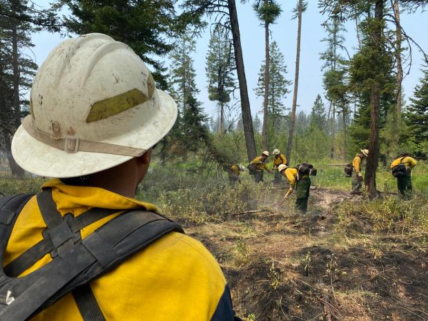 Incident Photo for the Snake River Complex Fire