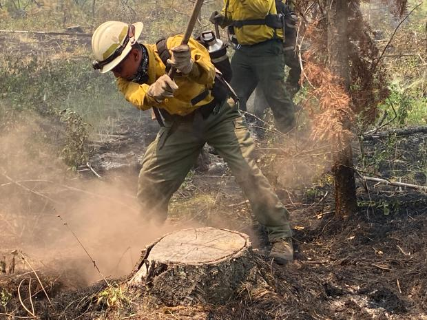 Incident Photo for the Christensen Fire