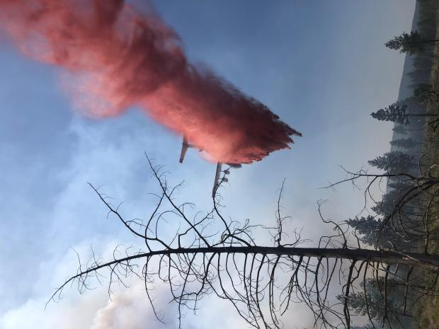 Incident Photo for the Grandview Fire