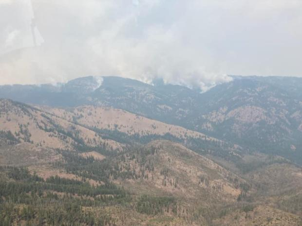 Incident Photo for the Cedar Creek Fire