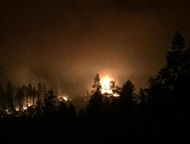 Incident Photo for the Chuweah Creek Fire