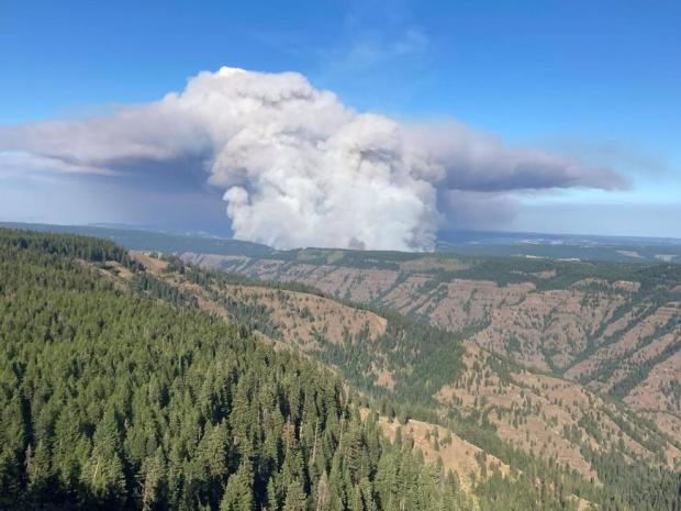 Incident Photo for the Elbow Creek Fire