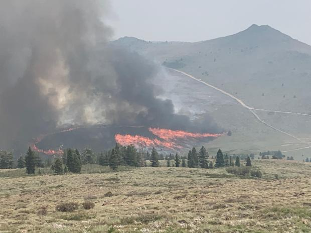 Incident Photo for the Tamarack Fire