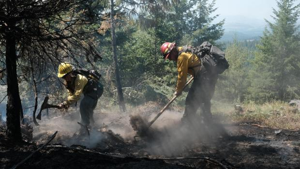 Incident Photo for the Summit Trail Fire