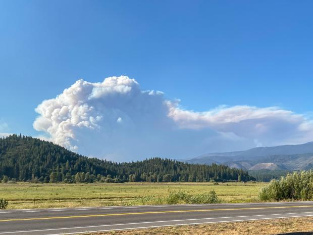 Incident Photo for the Dixie Fire